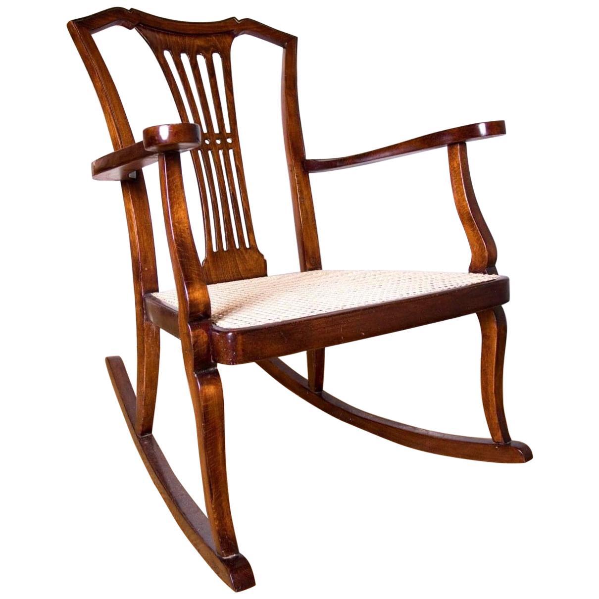 Thonet Vienna Rocking Chair For Sale