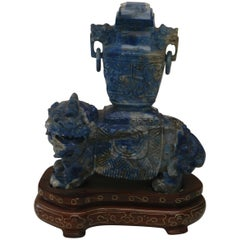 Lapis Lazuli Lion