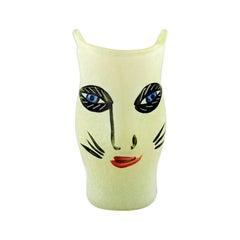 Ulrica Hydman Vallien for Kosta Boda, Sweden, Vase in Mouth Blown Art Glass