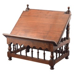 Table Lectern, Walnut, 17th-18th Century