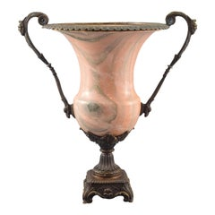 Bronze and Alabaster Cup, 20th Century