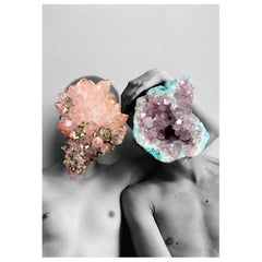 "Crystal Nude Couple Naropinosa, ""Untitled"" Digital Collage, Spain, 2019"