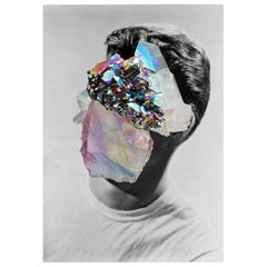 "Crystal Man Portrait Naropinosa. ""Untitled"" Digital Collage, Spain, 2019"