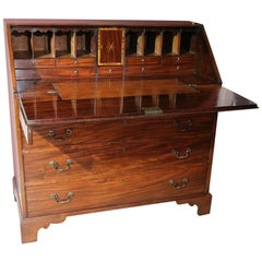 Outstanding Quality 18th Century Mahogany Bureau