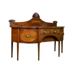 Large Antique Sideboard, English, Late Georgian, Server, Mahogany, circa 1800