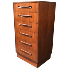 Tallboy Chest of Drawers by VB Wilkins for GPlan, Teak, Midcentury