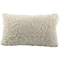 Australian Sheepskin Shearling Pillow Rectangle Cushion