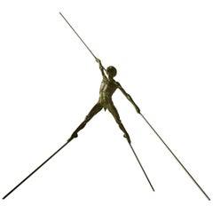 Bronze Sculpture Titled Petit Esquive by Nicolas Lavarenne, 2013