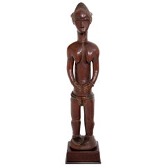 Female Sculpture of the Baule, Côte d'Ivoire, circa 1900-1920