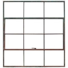 Antique Factory Casement Metal Window, More Available