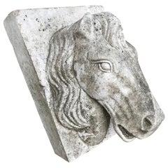 Horse Head Marble Keystone