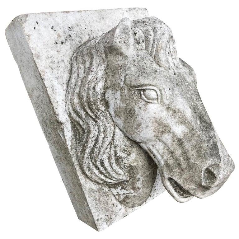 Horse Head Marble Keystone For Sale