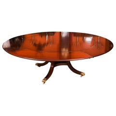 Vintage Jupe Mahogany Dining Table by William Tillman 20th Century