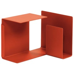 ClassiCon Diana C Side Table in Coral Red by Konstantin Grcic