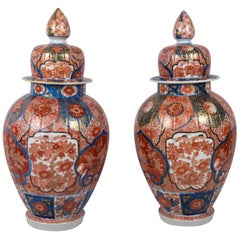 Pair of Japanese Imari Vase, 19th Century