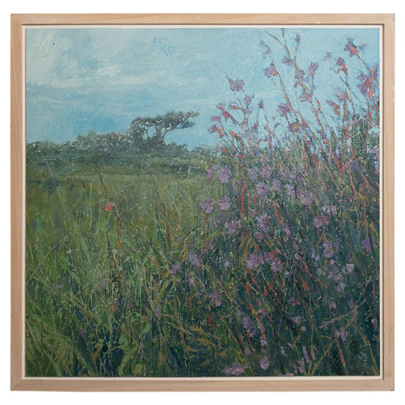 Landscape Painting of Cornwall by John Brenton, Oil on Canvas Board