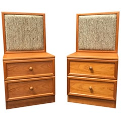 Pair of Bedside Cabinets by G Plan, Teak, Midcentury