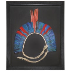 Kayapo 2 Headdress with Natural Feathers