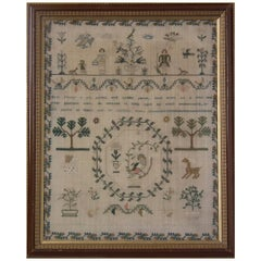 Antique Sampler, 1834 by Ann Jones