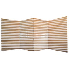 Yoko Folding Screen in Natural Solid Oak