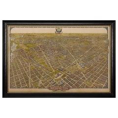 1921 Olsen Bird's-Eye View of Washington, D.C