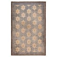 Rare Antique 17th Century Chinese Ningxia Carpet