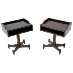 Nightsatand Table by Claudio Salocchi for Sormani, 1960s, Set of 2