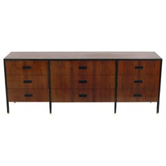 Harvey Probber Rosewood and Mahogany Chest