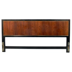 Harvey Probber Rosewood and Mahogany Headboard