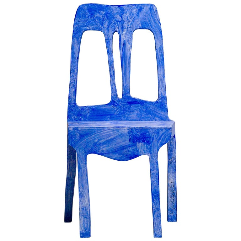 Chair Sculpture by Klaas Gubbels For Sale