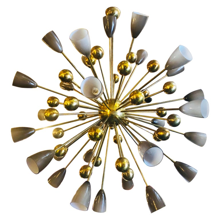Shades Sputnik Chandelier For Sale