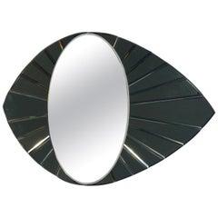 Midcentury Eye Shape Mirror