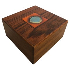 Bodil Eje Danish Rosewood Box by Alfred Klitgaard