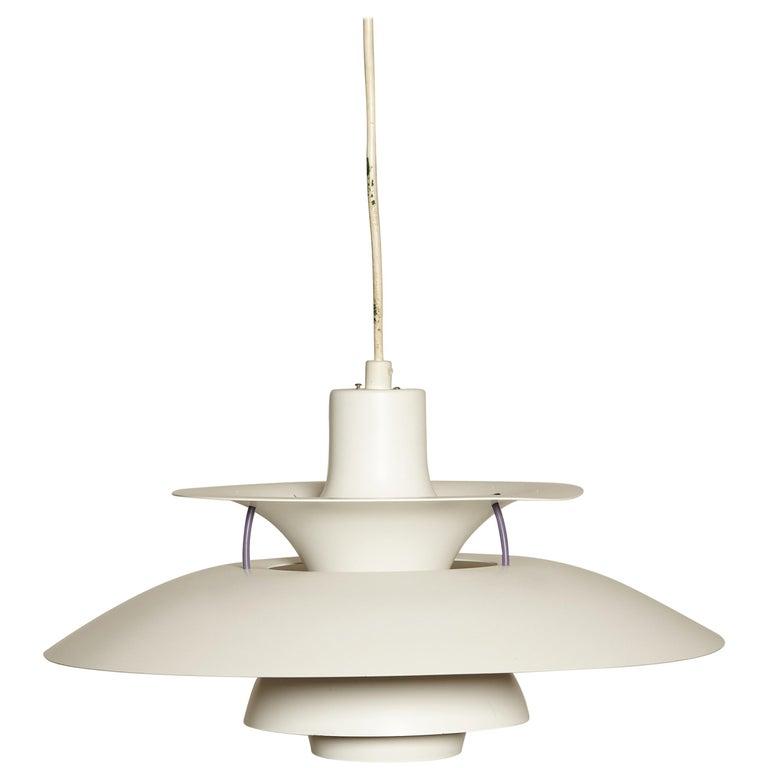 Vintage PH5 Pendant Lamp by Poul Henningsen for Louis Poulsen, Denmark For Sale