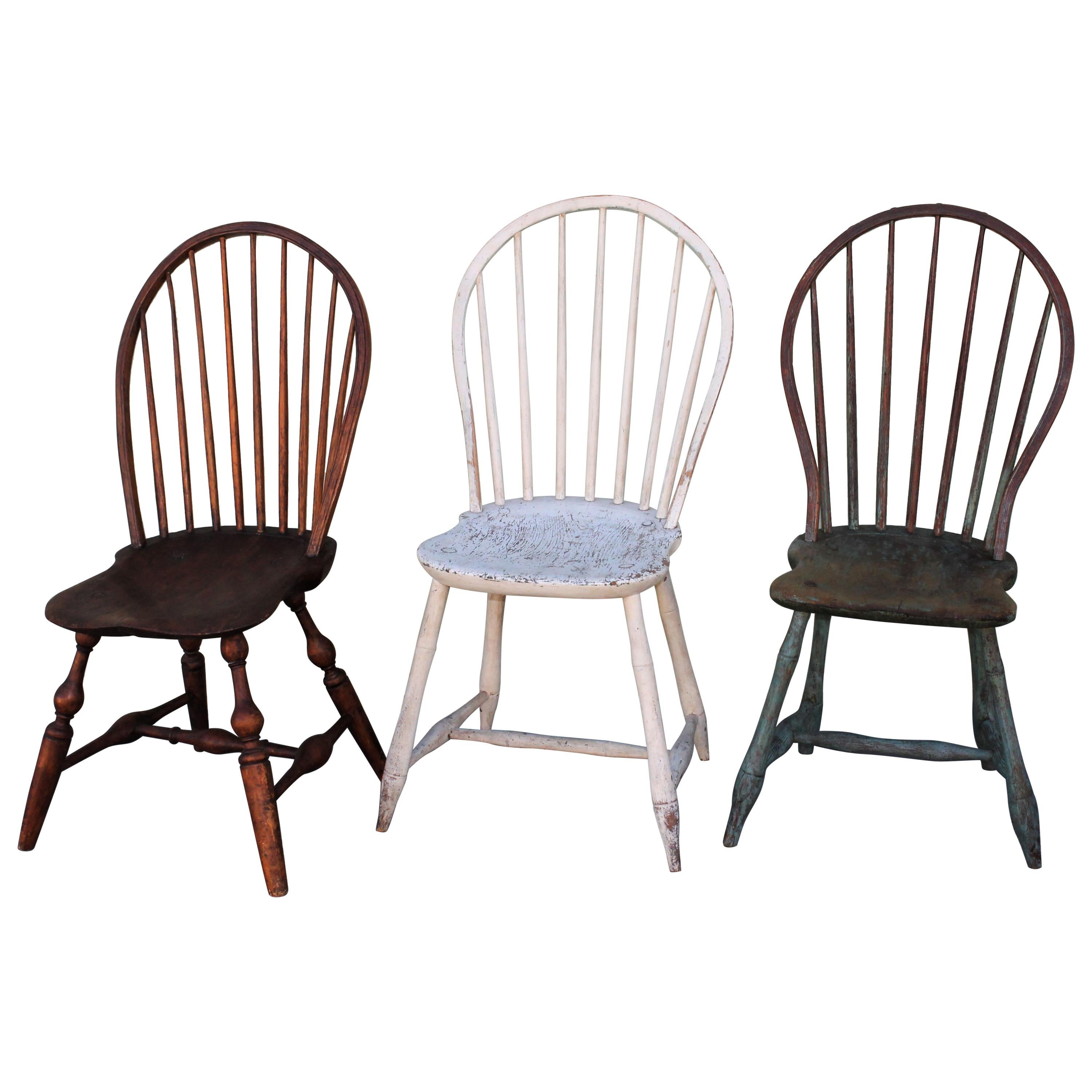 19th Century Windsor Chair Collection / 3