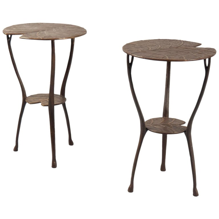 Pair of Wally tables, 2019