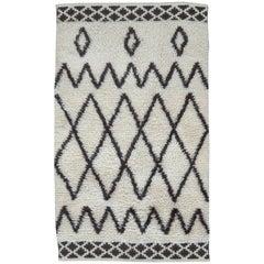 Modern Moroccan Rug