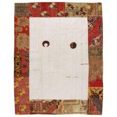 Modern Turkish Patchwork Carpet