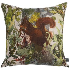 Indie Wood Red Squirrel Cushion by Timorous Beasties, 21st Century