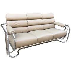 Gilbert Rohde for Troy Sunshade Glider Sofa