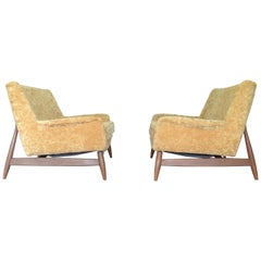 Pair of Settees Designed by Walter Baermann for Prestige Furniture