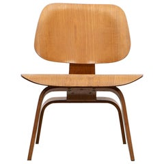 "1940s Ash Plywood LCW Chair by Charles & Ray Eames ""F"""