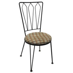 Wrought Iron Chair after McCobb