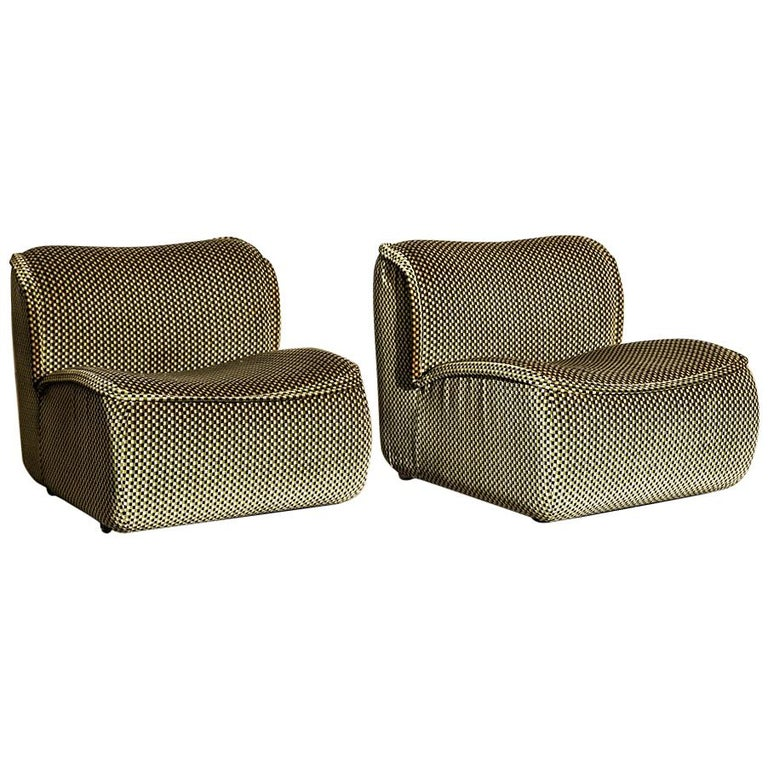 Pair Of Calida Lounge Chairs Designed By Arch Giudici
