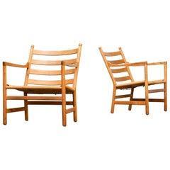 1960s Hans Wegner 'CH44' fauteuils for Carl Hansen & Søn