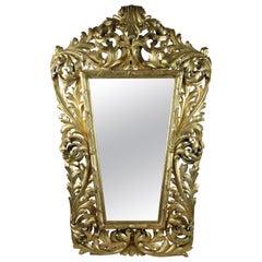 Golden Florentine Mirror, Austria, circa 1850