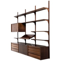 Poul Cadovius 'Cado' Wall System/Bookcase Produced in Denmark