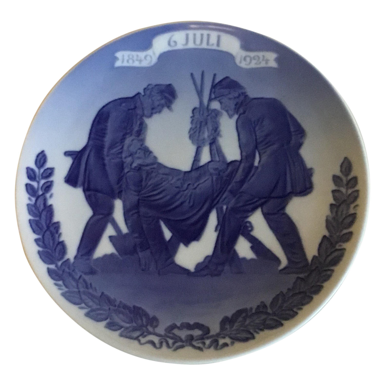 Royal Copenhagen Commemorative Plate from 1924 RC-CM223