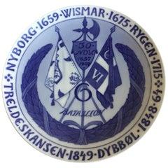 Royal Copenhagen Commemorative Plate from 1908 RC-CM81
