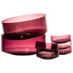 Timo Sarpaneva Glass Bowls by Iittala in Finland